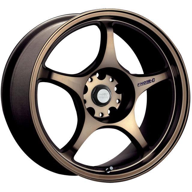 17x8 5 ZIGEN Fn01r C Bronze Flat Wheels