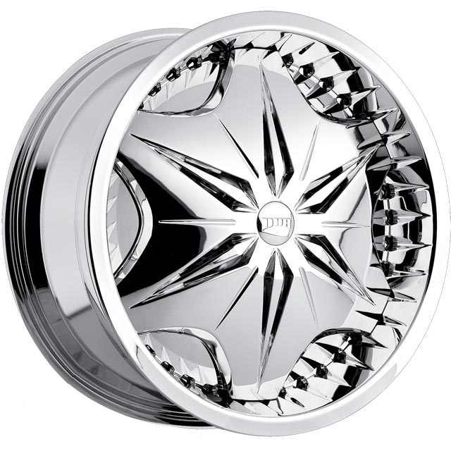 26x10 DUB SPIN VOODOO Chrome wheels [voodoo] - $2,534 99