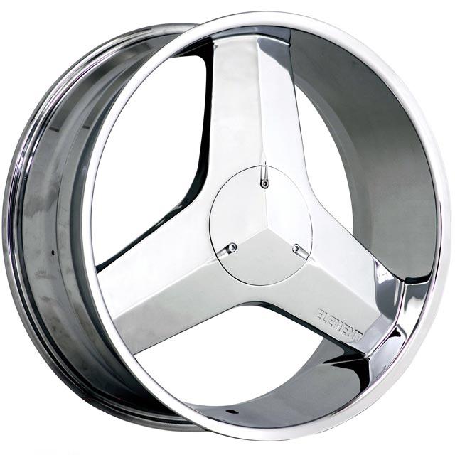ELEMENT 22x9 E971 Chrome Wheels