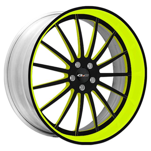 Gfg 21x11 Pompeii Custom Green Wheels